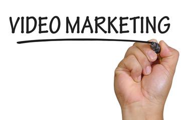 hand writing video marketing