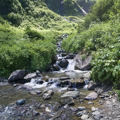 Nice mountain stream
