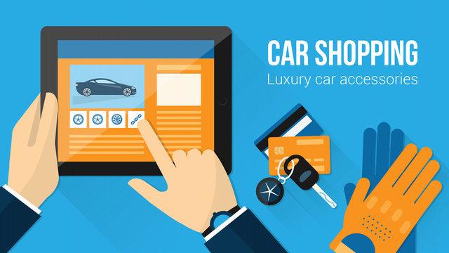 Car accessories shopping