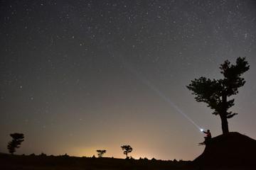 fener ile yıldızlara ışık tutmak