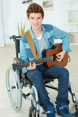 Disabled guitarist