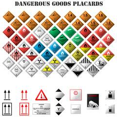 señales de mercancia peligrosa