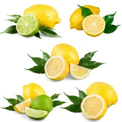 Lemon, Portion, Fruit.