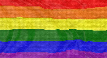 LGBT flag tiles