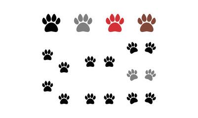 Animal Paw Claw Vector Illustration