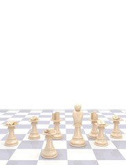 Chess Business abstract image