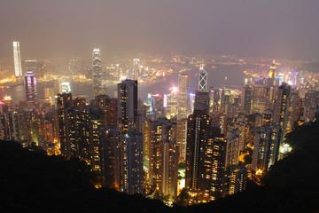 The Peak Hong Kong island