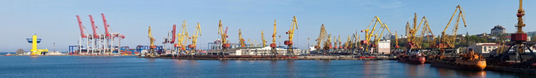 panorama of port