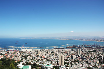 Panorama of Haifa, Israel