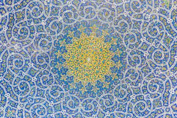 Madrasa-ye-Chahar Bagh, in Isfahan, Iran.
