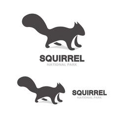 Gray squirrel logo