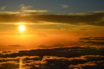 Sunset at Haleakalā