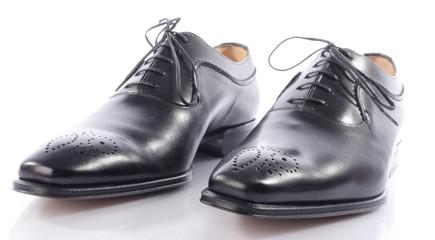 Luxury black shoes