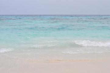 White sand beach, Tachai island, Thailand