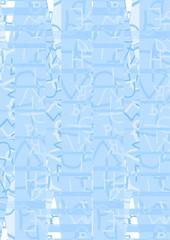 Blue style background