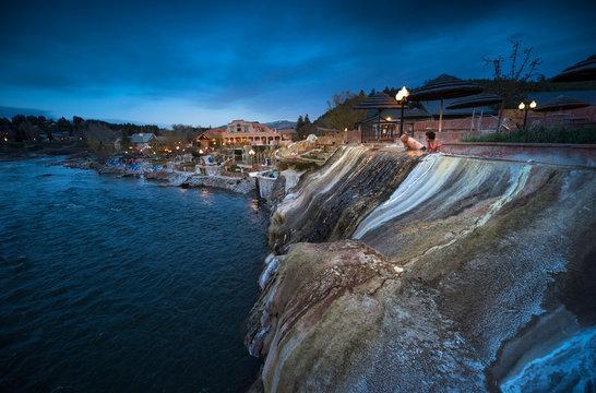 Pagosa hot spring