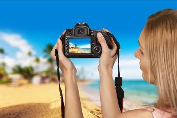 Photographing, Photographer, Camera.
