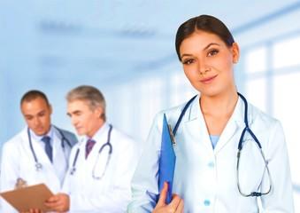 Healthcare And Medicine, Doctor, Hospital.