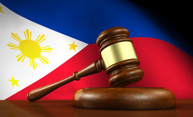 Philippine Law And Justice Concept