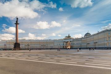 Alexander Column on Palace Square