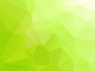 Green Triangular Triangle Abstract Background