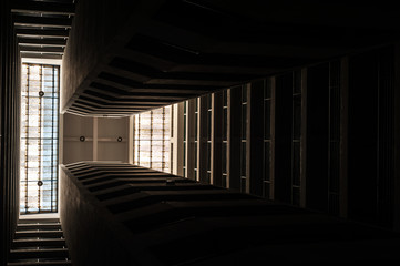 Abstract Building in low light