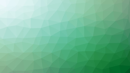 Green low poly background.