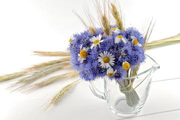 Fototapeta Bukiet kwiatów polnych obraz