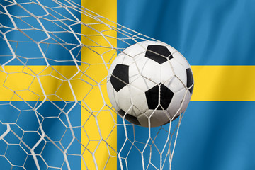 Sweden soccer ball