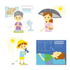 熱中症の予防 暑さ対策