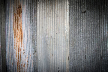 Wall Mural - Old galvanized sheet  texture