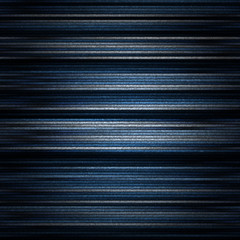 Seamless pattern of metalic stripes in shades of blue