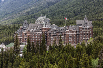 The Castle of Banff - Fairmont Spring Hotel