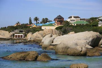 ケープ半島のボルダーズビーチ