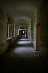 Printed kitchen splashbacks Old Hospital Beelitz lost place old hospital Beelitz near Berlin