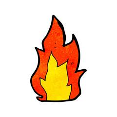 cartoon fire