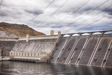 Foto auf Acrylglas Damm Grand Coulee Dam
