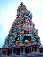Temple Hindou à Singapour