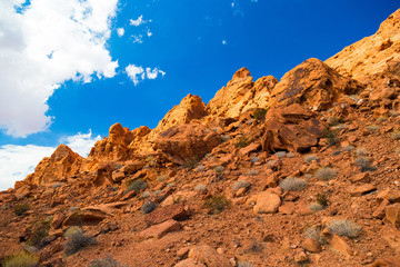 Red Rock Landscape, Valley of Fire State Park, Nevada, USA