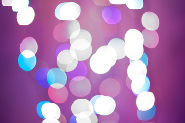Abstract bokeh background pink color. Soft defocused lights