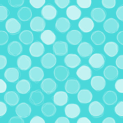 Seamless circles pattern