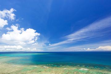 沖縄の海・知念岬公園からの眺め