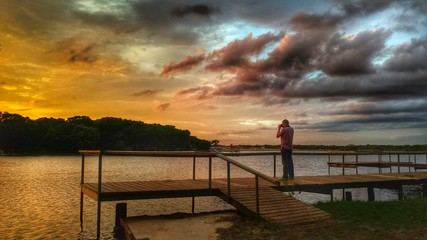 Lake Sunset Photographer