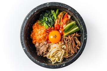 ビビンパ 韓国料理 bibimbap Korean food