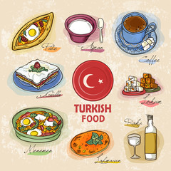 Turkish delicacy dishes