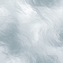 Seamless tileable ice texture. Frozen water. Abstract realistic