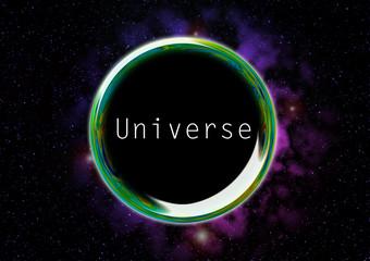 宇宙 シャボン玉 universe