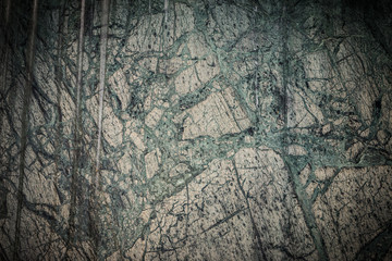 Wall Mural - Weathered green marble