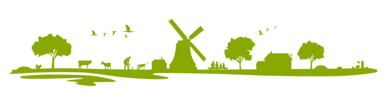 Landschaft Bauernhof