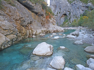 beautiful Creek in a Canyon